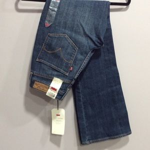 NWTS Levi's Bold Curve Boot Cut Jean
